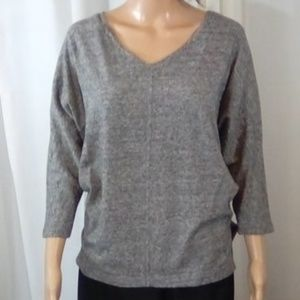Old Navy Gray Thin Sweater